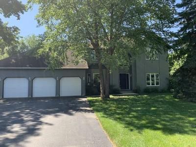 Grayslake Single Family Home New: 100 Parker Drive