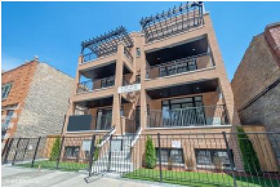 Condo/Townhouse For Sale: 4711 North Damen Avenue #1S