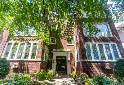 Condo/Townhouse New: 4432 North Racine Avenue #1S