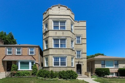 Chicago Multi Family Home New: 2516 West Jarvis Avenue