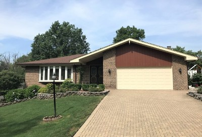 Palos Heights Single Family Home New: 12724 South 74th Avenue
