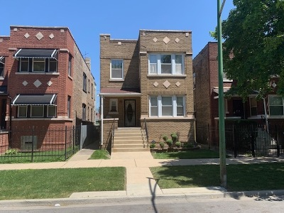 Chicago Multi Family Home New: 9149 South Drexel Avenue