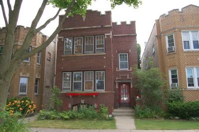 Chicago Multi Family Home New: 5853 North Fairfield Avenue