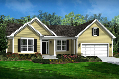 Winfield Single Family Home New: Lot 2 Prairie Avenue