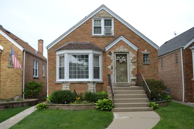 Chicago Single Family Home New: 5042 North Newcastle Avenue