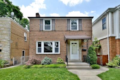 Chicago Single Family Home New: 5104 North Newcastle Avenue