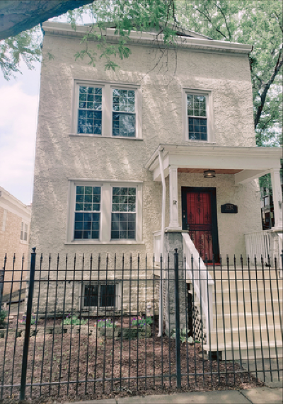 Chicago Single Family Home New: 3752 North Mozart Street
