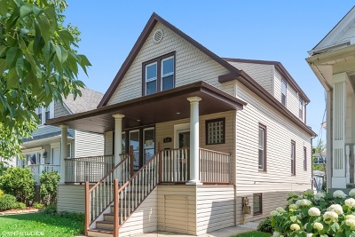 Chicago Single Family Home New: 5131 West Patterson Avenue