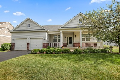 Huntley Single Family Home New: 12501 Lions Chase Lane