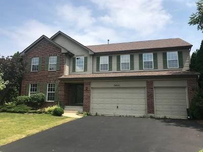Lake Villa Single Family Home New: 36947 North Deer Trail Drive