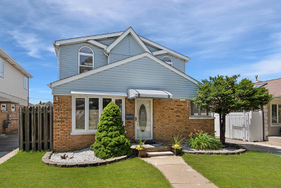 Cook County Single Family Home New: 5604 South McVicker Avenue