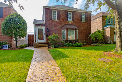 Cook County Single Family Home New: 7821 West Thorndale Avenue