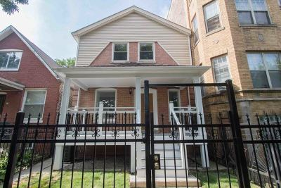 Chicago Single Family Home New: 3427 West Hirsch Street