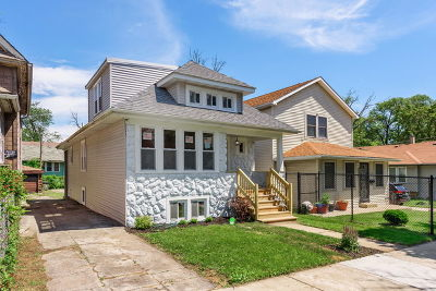 Chicago Single Family Home New: 1152 West 104th Place