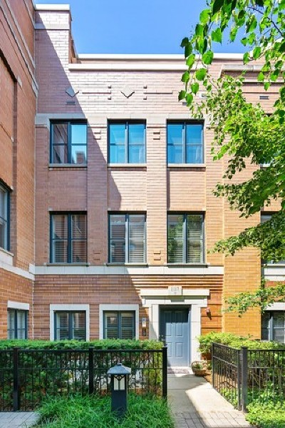 Condo/Townhouse For Sale: 1117 West Monroe Street #19