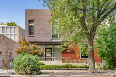 Wicker Park, Bucktown Single Family Home For Sale: 1744 West Cortland Street
