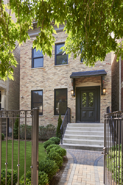 Chicago Single Family Home New: 1965 West Evergreen Avenue
