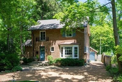 Glencoe Single Family Home For Sale: 225 Sylvan Road