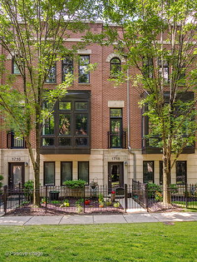 Chicago Condo/Townhouse New: 1718 West Surf Street