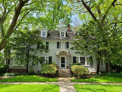 Wilmette Single Family Home For Sale: 501 Laurel Avenue