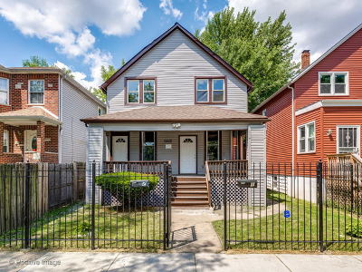 Chicago Multi Family Home New: 5458 West Iowa Street