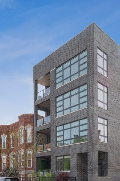 Chicago Condo/Townhouse New: 456 North Carpenter Street #3