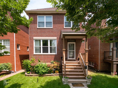 Chicago Single Family Home New: 2507 South Mary Street