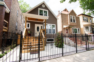 Chicago Single Family Home New: 1740 North Harding Avenue
