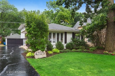Downers Grove Single Family Home For Sale: 4725 Middaugh Avenue