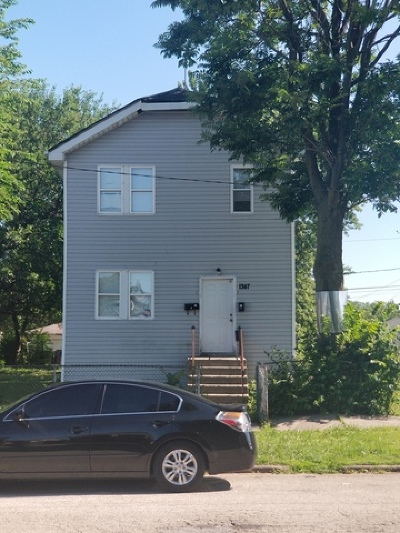 Chicago Multi Family Home New: 1347 West 109th Place