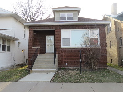 Chicago Single Family Home New: 7954 South Yale Avenue