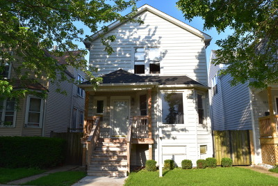 Chicago Multi Family Home New: 3531 North Whipple Street