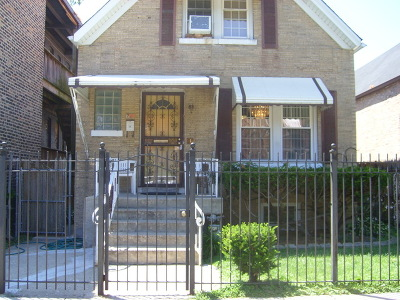Chicago Single Family Home New: 704 North Trumbull Avenue
