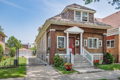 Chicago Single Family Home New: 8117 South Avalon Avenue