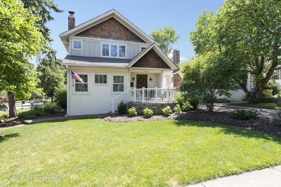 Glen Ellyn Single Family Home Price Change: 423 Taylor Avenue