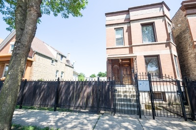 Chicago Multi Family Home New: 1321 North Hamlin Avenue
