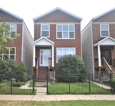 Chicago Single Family Home New: 8055 South Saint Lawrence Avenue