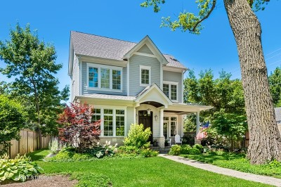 Wilmette Single Family Home For Sale: 1 Crescent Place