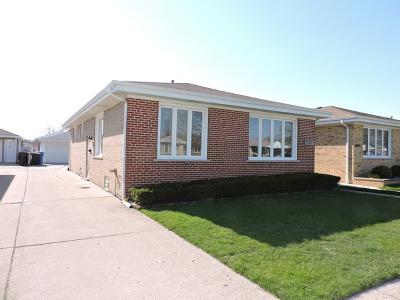 Chicago Single Family Home New: 4928 North Nordica Avenue