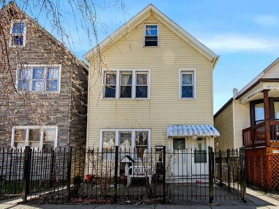 Chicago Multi Family Home New: 2721 West 38th Place