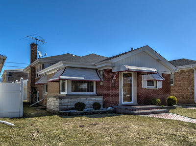 Chicago Single Family Home New: 7353 North Oconto Avenue