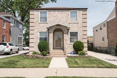 Chicago Single Family Home New: 5725 South Nordica Avenue