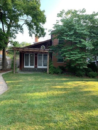 Evanston Single Family Home For Sale: 2437 Simpson Street
