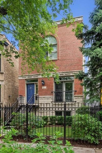 Single Family Home Price Change: 3319 North Leavitt Street
