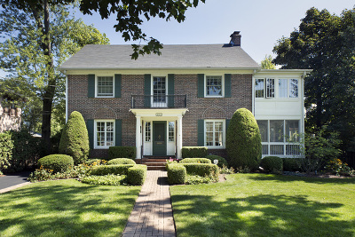 Winnetka Single Family Home For Sale: 351 Linden Street