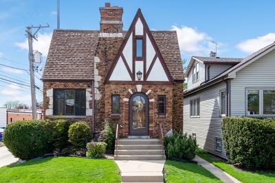 Single Family Home For Sale: 4016 North Ozark Avenue