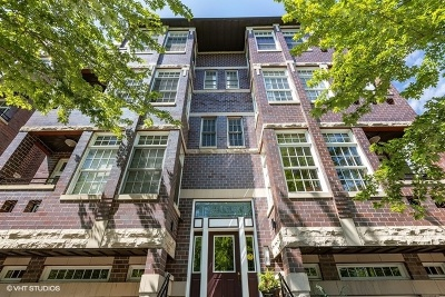Condo/Townhouse For Sale: 3844 North Clark Street #2N