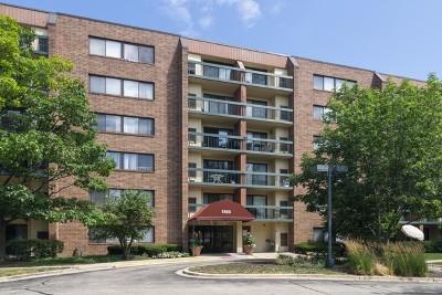 Hoffman Estates Condo/Townhouse For Sale: 1800 Huntington Boulevard #403