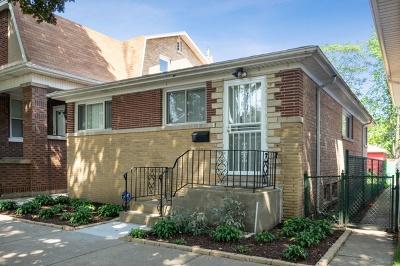 Single Family Home For Sale: 5107 North Kildare Avenue