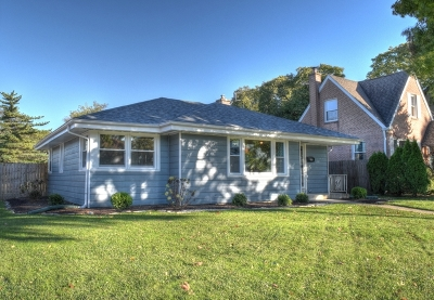 Elmhurst Single Family Home Price Change: 285 North Ridgeland Avenue